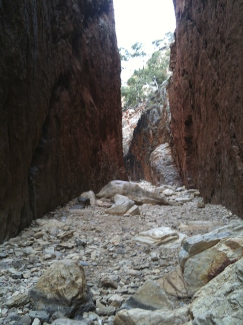 Gorge Central Australia